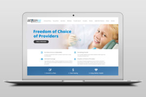 Argus Website Laptop