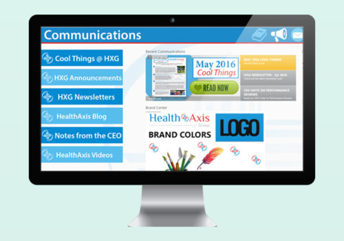 HealthAxis Intranet