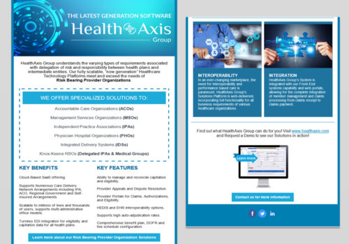 HealthAxis Email