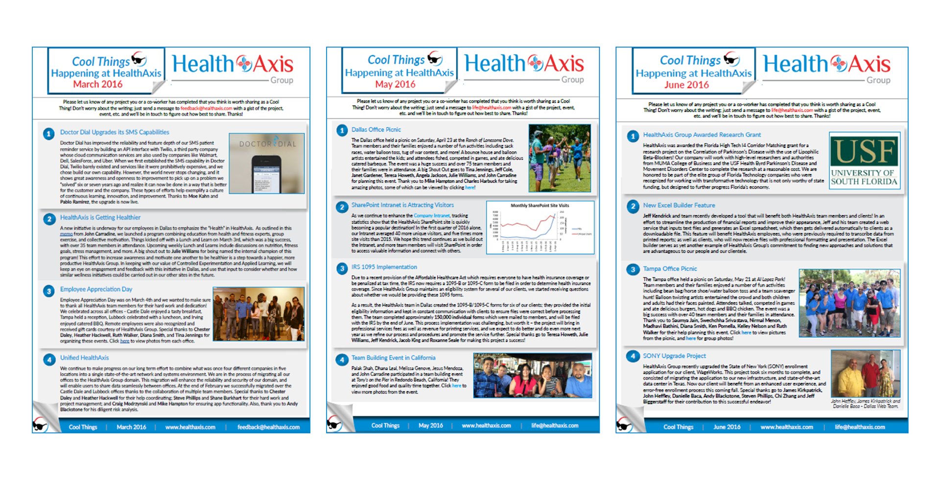 HXG Internal Newsletter
