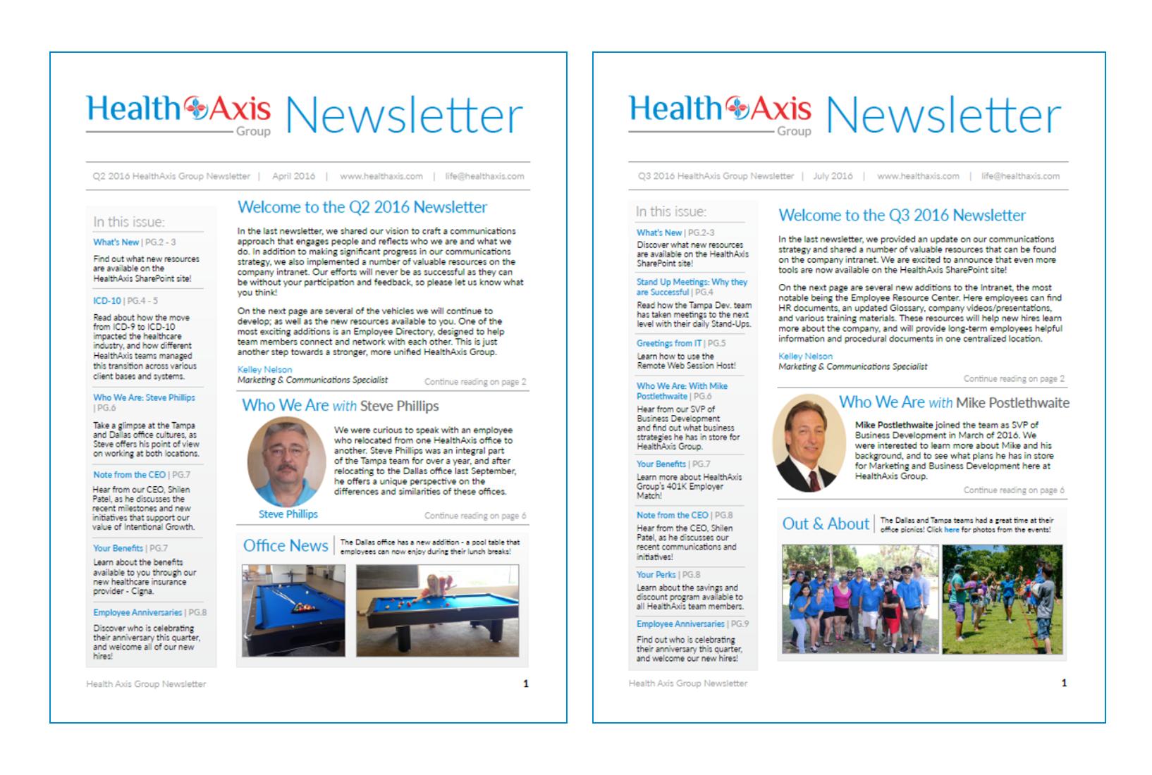 Quarterly Newsletter 2
