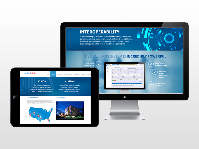Website Computer and Tablet