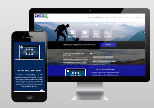 DS3 Website Redesign